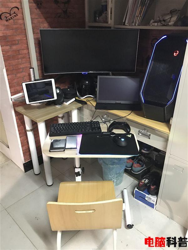 快围观 大三土豪晒自家Alienware的台式PC游戏装备