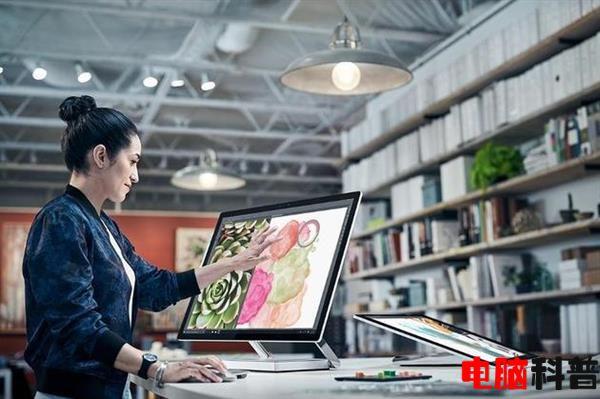 """微软Surface Studio一体机能击败""""苹果""""吗"""
