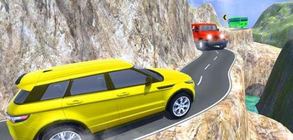 吉普车山地驾驶