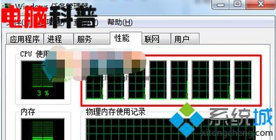 win10任务管理器cpu显示多个窗口的方法